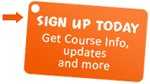 Sign up for updates about evening classes