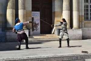 Fencing classes
