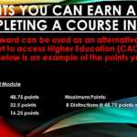 What CAO points can you earn doing a MBC course?
