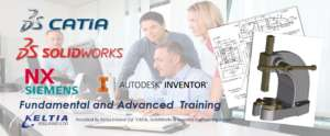 CATIA / SolidWorks and AutoDesk Inventor training from Keltia Ireland