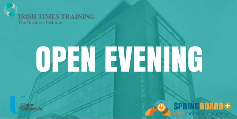Irish Times Training's next open event takes place Monday 21 August