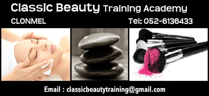 Clonmel's Classic Beauty Training Academy joins Nightcourses.com