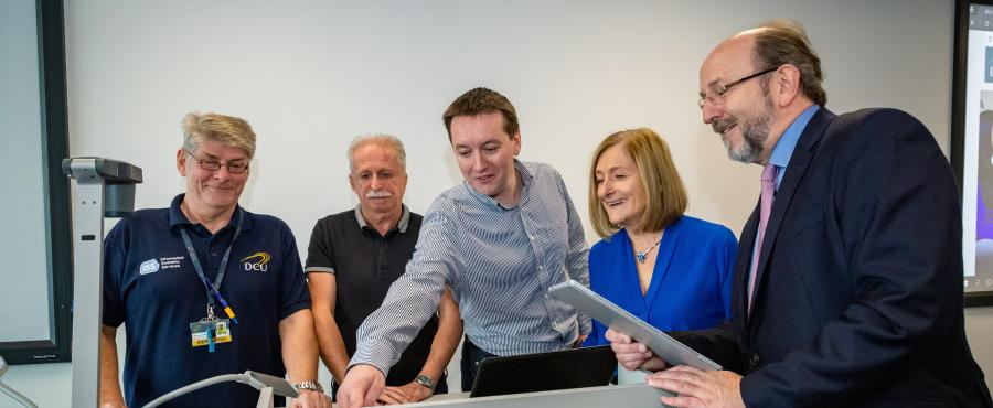 DCU Connects to Digital campus
