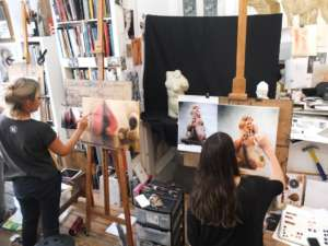 Dublin Art Studio – Contemporary & Classical Drawing and Painting techniques