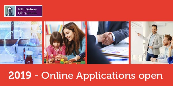 Online applications open for part-time courses at NUI Galway!