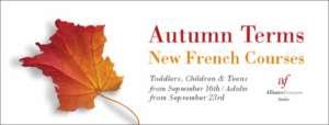 Autumn Term at the Alliance Française
