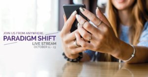 Paradigm Shift Global Seminar (11th-13th October)