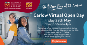 Virtual Open Day in IT Carlow