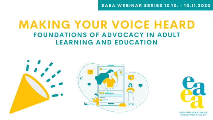 Making Your Voice Heard: Foundations of Advocacy in Adult learning and Education