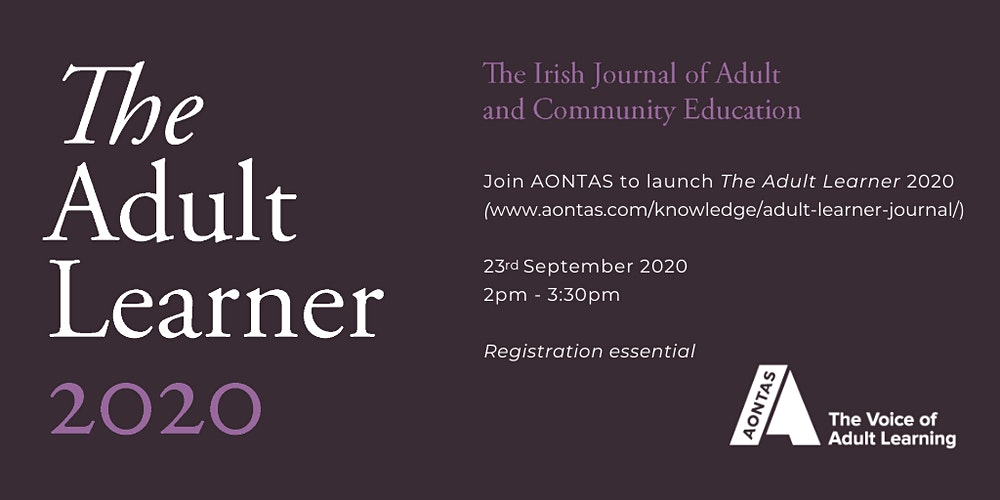 Adult Learner Journal Launch 2020