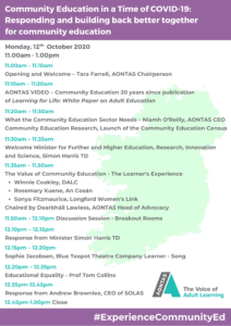 Community Education in a Time of COVID-19