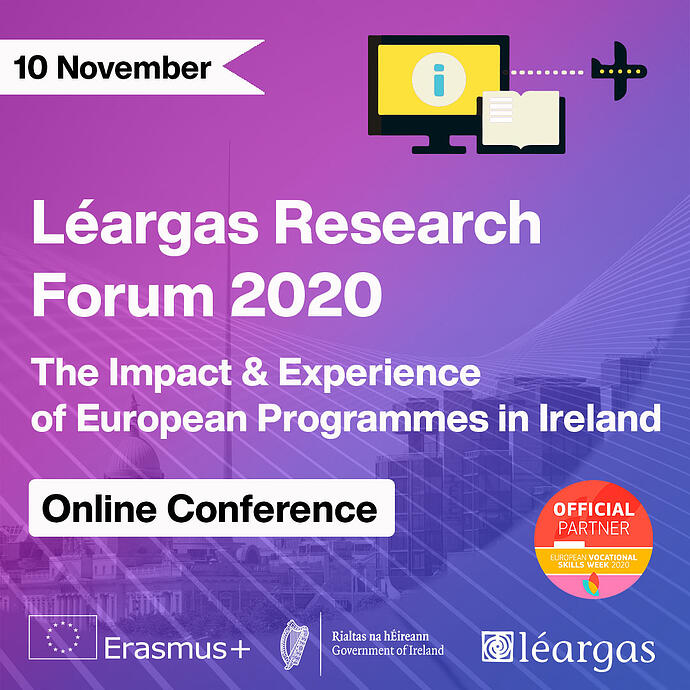 Léargas Research Forum Presentations: A Guide to the Presentations