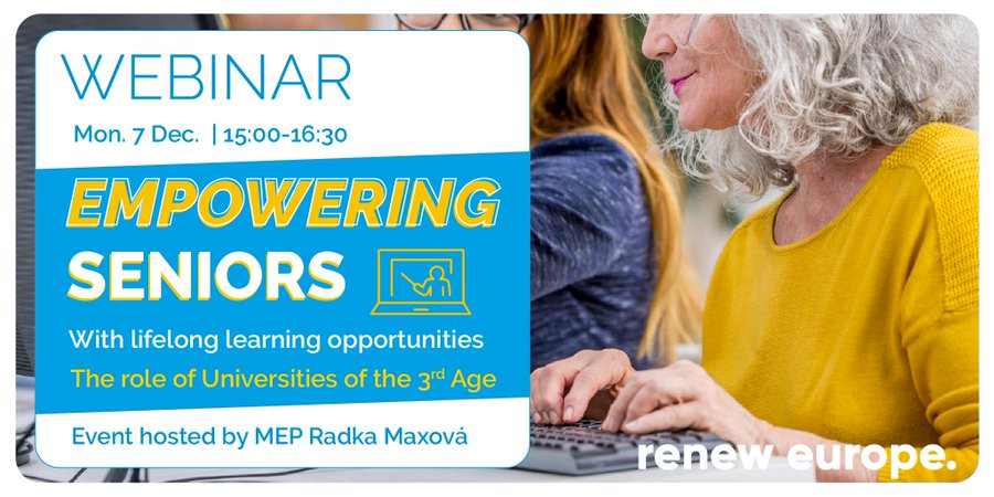 Empowering European Seniors With Lifelong Learning Opportunities
