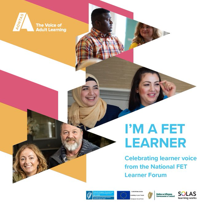 Adult Learners Tell Their Stories in AONTAS Booklet I'm a FET Learner